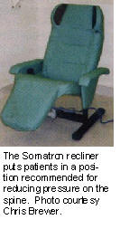 Image result for somatron vibroacoustic recliner by Dr. George Patrick
